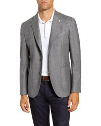 L.B.M. 1911 - Trim Fit Houndstooth Wool Sport Coat - Lyst