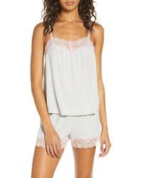 Nordstrom Moonlight Short Pajamas - Gray