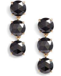 Kate Spade - Bright Ideas Triple Drop Earrings - Lyst