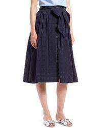 Nordstrom - 1901 Clip Dot Full Skirt - Lyst