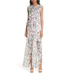 Ted Baker - Susien Jungle Print Maxi Dress - Lyst