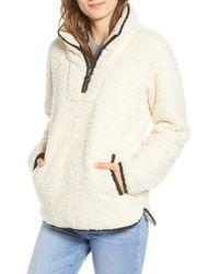 Thread & Supply Wubby Fleece Pullover - Natural