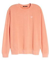 Obey - Faded Pigment-dyed Sweatshirt - Lyst