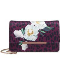Ted Baker Ginnyy Wilderness Satin Evening Bag - Multicolor