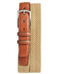 Torino Leather Company - Braided Stretch Cotton Belt - Lyst