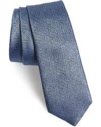 Calibrate - Nevill Solid Silk Tie - Lyst