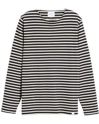 Norse Projects - Godtfred Stripe Long Sleeve T-shirt - Lyst