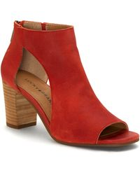 Lucky Brand Udine Shield Sandal - Red