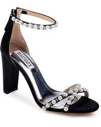 Badgley Mischka - Hooper Ankle Strap Sandal - Lyst