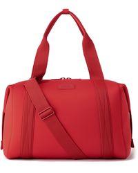 Dagne Dover 365 Large Landon Neoprene Carryall Duffle Bag - Red