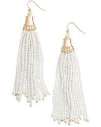 Adia Kibur | Beaded Tassel Earrings | Lyst
