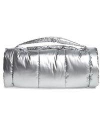 PUMA - Fenty By Rihanna Padded Barrel Bag - Metallic - Lyst