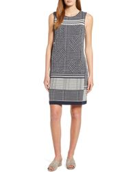 NIC+ZOE - Forefront Sleeveless A-line Dress - Lyst