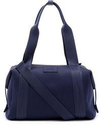 Dagne Dover Medium Landon Neoprene Carryall Duffle Bag - Blue