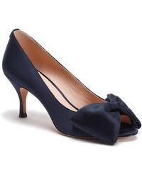 Kate Spade Crawford Peep Toe Pump - Blue