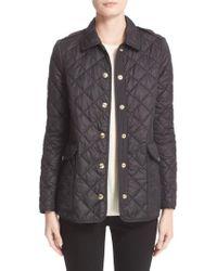 Burberry Westbridge Quilted Jacket - Black