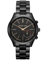 Michael Kors | Michael Michael Kors Slim Runway Smart Watch | Lyst