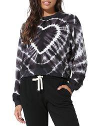 Electric and Rose Ronan Tie Dye Sweatshirt - Multicolor