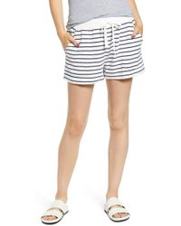 Rails Robin Drawstring Waist Shorts - Blue