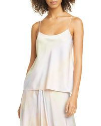 Vince Rainbow Wash Camisole - White