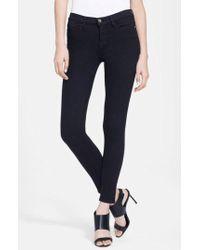 FRAME - Le Color Skinny Jeans - Lyst