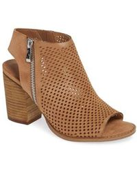 Steve Madden - Abigail Perforated Bootie - Lyst