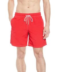 Bugatchi - Swim Trunks - Lyst