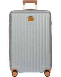 Bric's Capri 2.0 27-inch Expandable Rolling Suitcase - Metallic