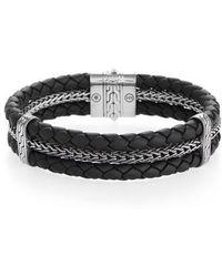 John Hardy - Classic Chain Triple Row Bracelet - Lyst