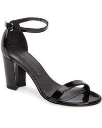 Stuart Weitzman - Nearlynude Ankle Strap Sandal - Lyst