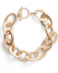Steve Madden - Rolo Bar Ring Bracelet - Lyst