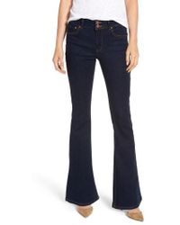 Tinsel - Double Stack Flare Jeans - Lyst