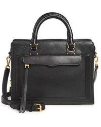 Rebecca Minkoff - Medium Bree Leather Satchel - Lyst