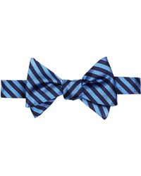 Brooks Brothers - Silk Stripe Bow Tie - Lyst