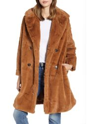 French Connection - Annie Faux Fur Jacket - Lyst