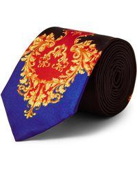 TOPMAN - Baroque Print Tie - Lyst