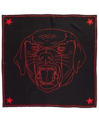 Givenchy - Rottweiler Silk Twill Scarf - Lyst