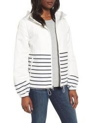 Vince Camuto - Stripe Windbreaker Jacket - Lyst