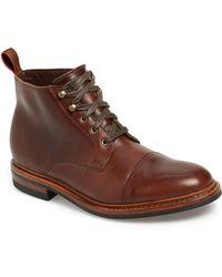Allen Edmonds - Hearst Cap Toe Boot - Lyst