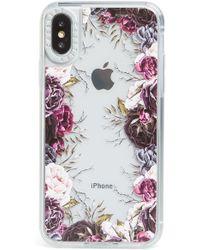 Casetify - My Secret Garden Grip Iphone X/xs/xs Max & Xr Case - Purple - Lyst