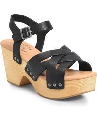Kork-Ease - Kork-ease Wausau Platform Sandal - Lyst