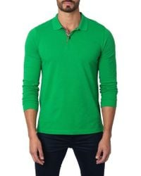 Jared Lang - Long Sleeve Polo - Lyst