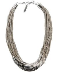 Lafayette 148 New York - Multistrand Statement Necklace - Lyst