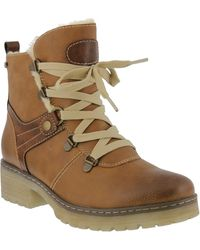 Spring Step Micha Faux Fur Lined Hiking Boot - Multicolour