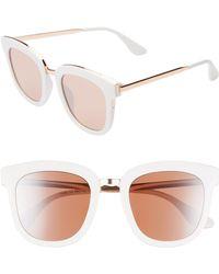 BP. 60mm Browbar Metal Aviator Sunglasses - Lyst