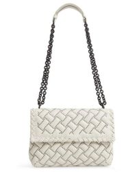 Bottega Veneta - Small Olympia Studded Leather Shoulder Bag - Lyst