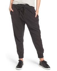 James Perse - Jogger Pants - Lyst