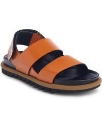Dries Van Noten - Double Strap Flat Sandal - Lyst