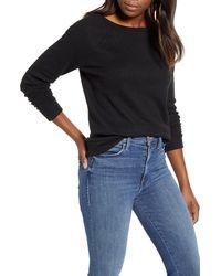 Caslon Caslon Knit Pullover - Black