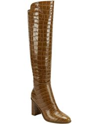Marc Fisher Unella Knee High Boot - Brown